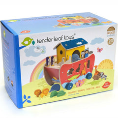 Tender Leaf Noah's Ark Shape Sorter Wooden