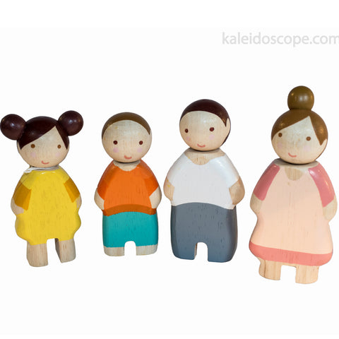 Tender Leaf Toys Doll Family Wooden  Painted