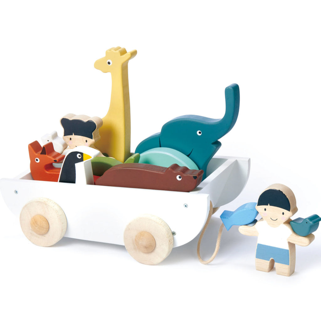 Tender Leaf Toys The Friend Ship Boat 1