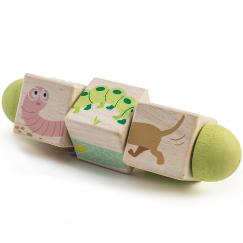 Tender Leaf Toys Twisting Cubes Wooden