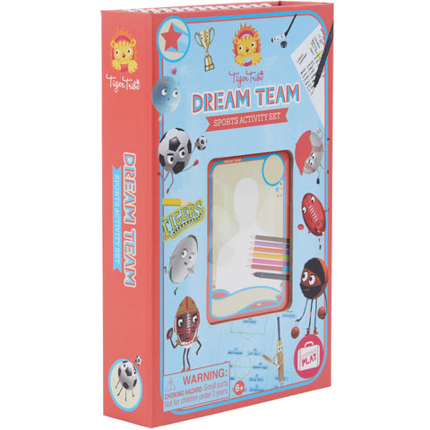 Tiger Tribe Dream Team Sports Activity Set 1