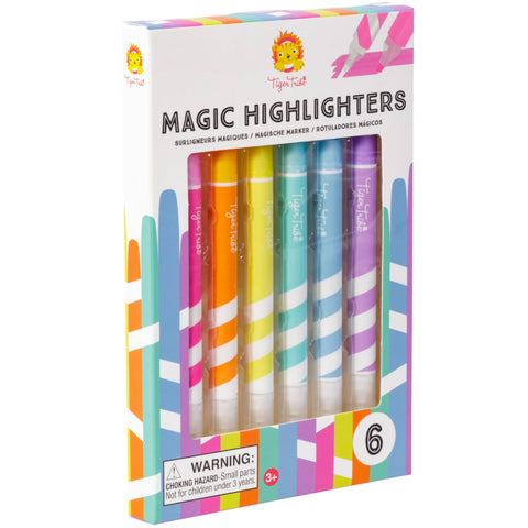 Tiger Tribe Magic Highlighters 6 Colours