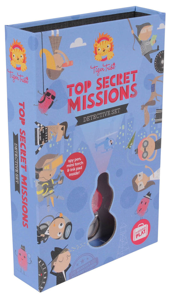 Tiger Tribe Top Secret Missions Detective Set