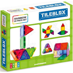 Tileblox Rainbow Set 20 piece 3