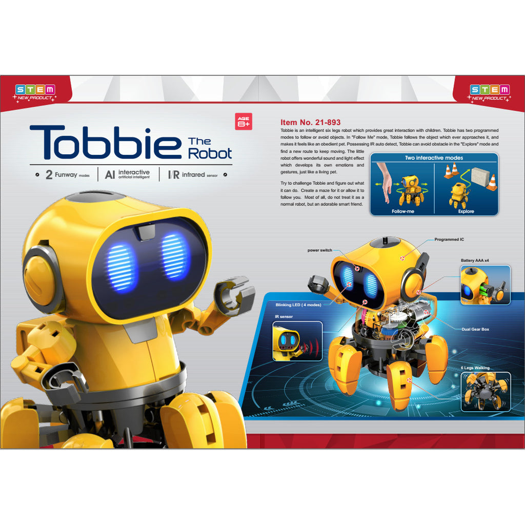 CIC Tobbie the Robot Infrared 2 Models 4