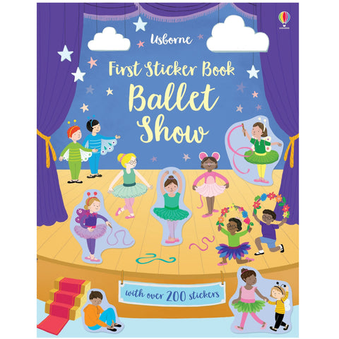 Usborne First Sticker Book Ballet Show