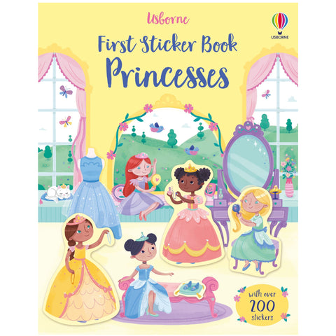 Usborne First Sticker Book Princesses