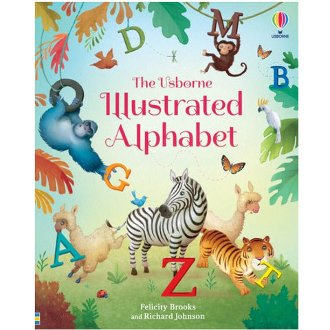 Usborne Illustrated Alphabet