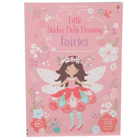 Usborne Little Sticker Dolly Dressing Fairy Book