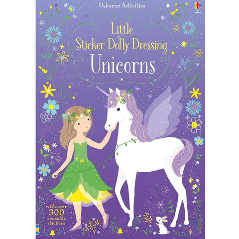 Usborne Little Sticker Dolly Dressing Unicorns Activity Book