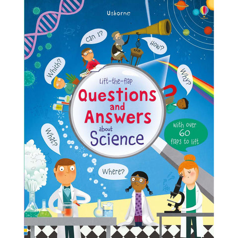 Usborne Questions and Answers about Science Lift the Flap hb Book