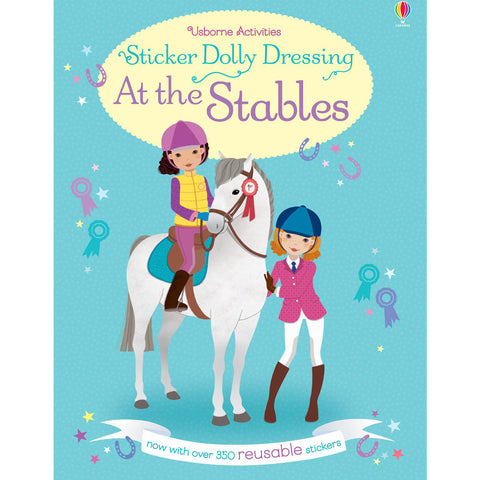 Usborne Sticker Dolly Dressing At The Stables