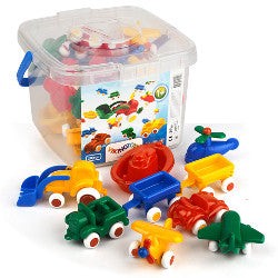 Viking Toys Mini Chubbies Bucket 20pcs