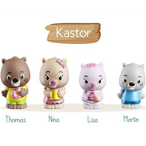 Vulli Klorofil Kastor Family (Beavers) 4pc 1