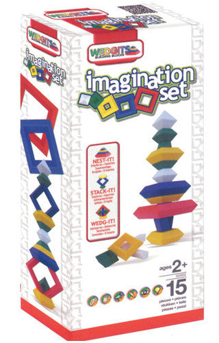 Wedgits Imagination Set 15pc