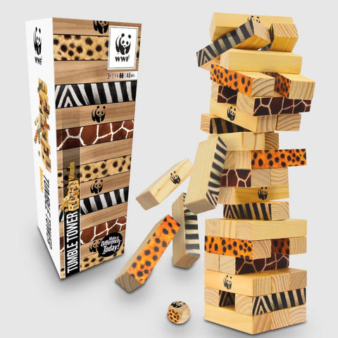 WWF Miombo Tumble Tower Wooden
