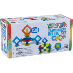 Wedgits Translucent Deluxe Set 30pc