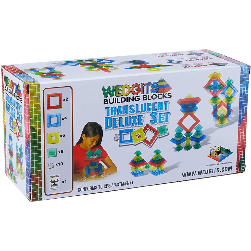 Wedgits Translucent Deluxe Set 30pc 4