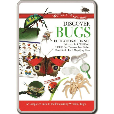 Wonders of Learning Discover Bugs Educational Tin Set