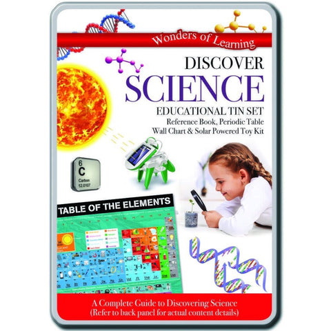 Wonders of Learning Discover Science in a Tin