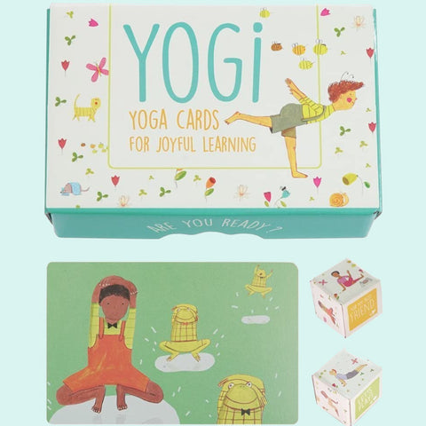 Yogi Yoga Cards for Joyful Learning