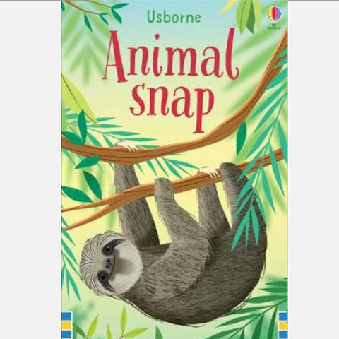 Usborne Animal Snap Card Game