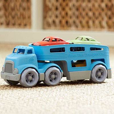 Green Toys Car Carrier 4pc 3