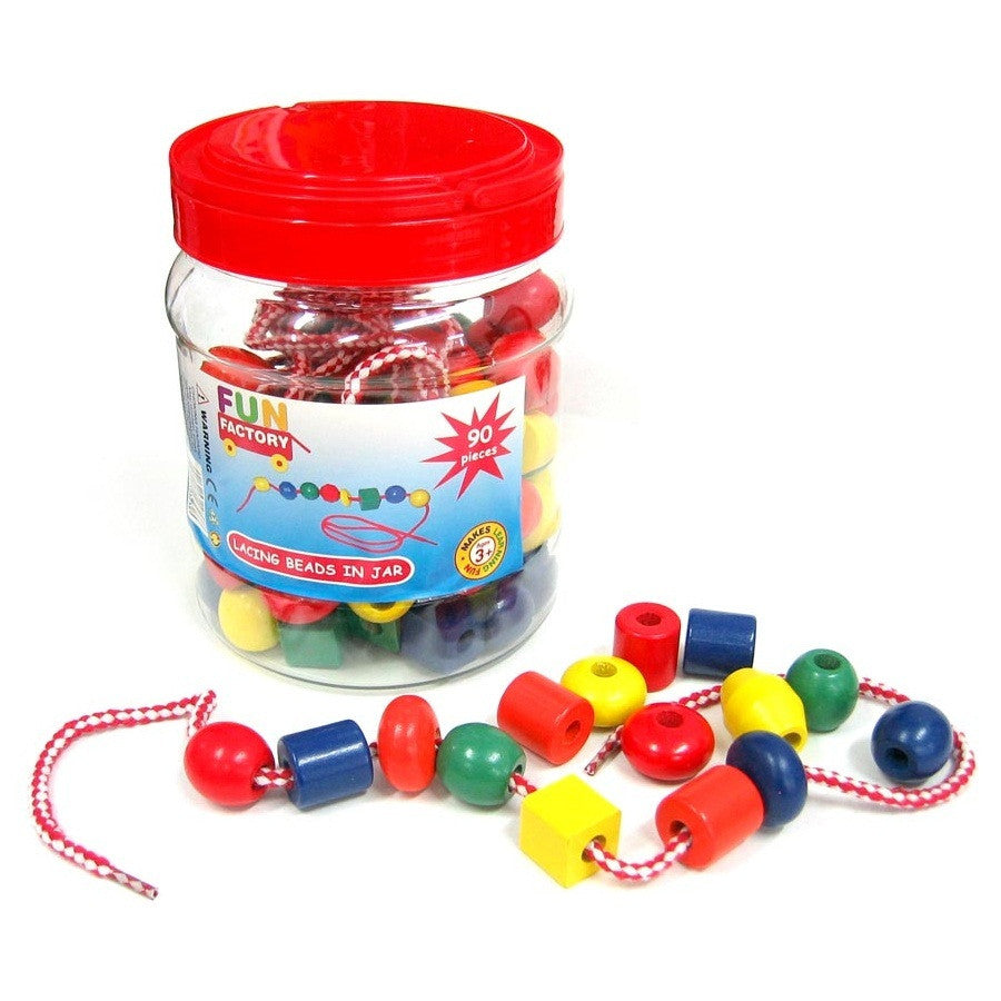Fun Factory Lacing Beads in Tub 90pcs
