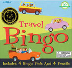 Eeboo Travel Bingo Game - K and K Creative Toys