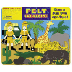 Felt Creations Safari - K and K Creative Toys