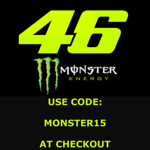 15% off VR46 Monster Collection