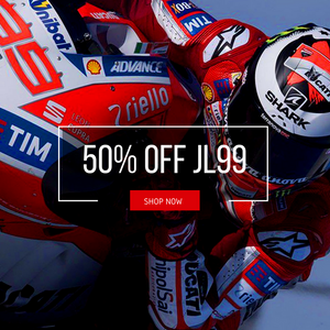 UP TO 50% OFF JORGE LORENZO!
