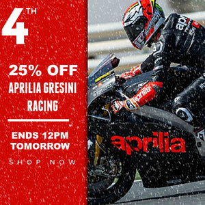25% OFF Aprilia Racing for 24 Hours GO GO GO!