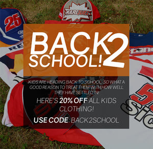 KIDS ARE BACK IN SCHOOL, SO HERE'S 20% OFF🔥