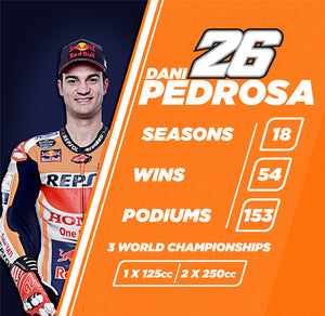 CELEBRATE DANI PEDROSA'S RETIREMENT WITH US!