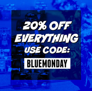 CYA BLUE MONDAY! 20% OFF EVERYTHING 24HOURS!