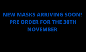 NEW FACE MASKS ARRIVING! PRE ORDER FOR THE 3OTH NOVEMBER