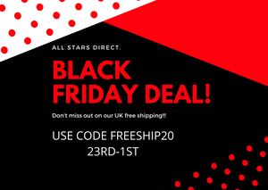 Black Friday deal! Get Free UK Shipping Until The 1st Of December