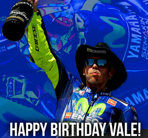 Happy Birthday Valentino Rossi! Shop Exclusive VR46 Discounts 🎉🎈