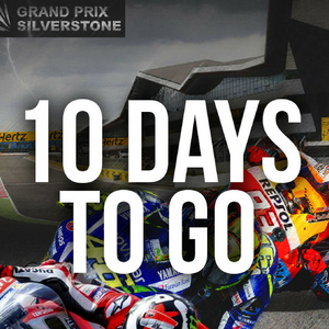 10 Days Until MotoGP Comes to the UK!