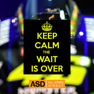 #vr46 #keepcalm the wait is over #valentinorossi 2020 #motogp collection dropping today  @AllStarsDirect