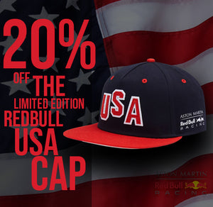 20% OFF THE REDBULL LIMITED EDITION CAP