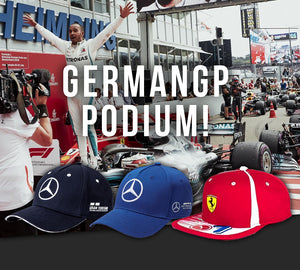 Celebrate the GermanGP Podium!