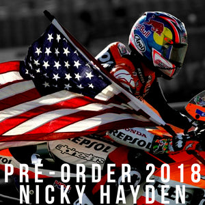 PRE-ORDER NICKY HAYDEN'S NEW 2018 COLLECTION