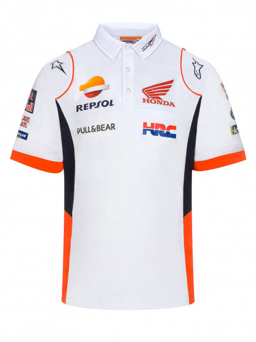 Polo White Repsol Honda - Official Teamwear Replica 2020