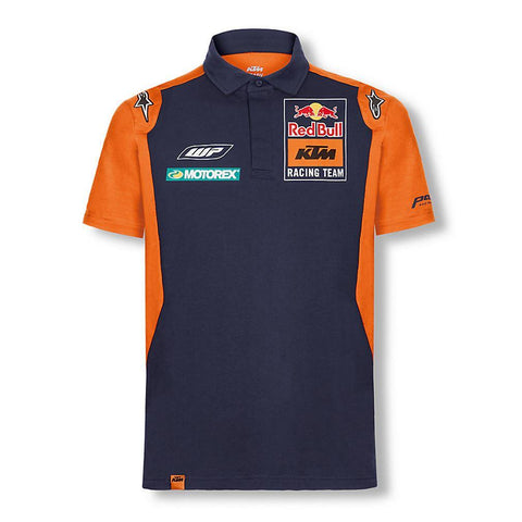 RED BULL KTM FACTORY RACING MOTO GP TEAMLINE POLO SHIRT OFFICIAL NEW