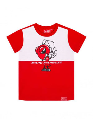 Marc Marquez Kids T-shirt Big Ant Red 93 MotoGP Official 2020 - allstarsdirect