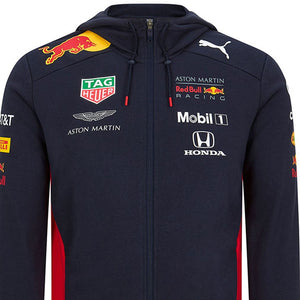 Aston Martin Red Bull Racing Zip Hoodie F1 Puma Team Official 2020
