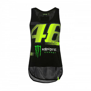 Valentino Rossi VR46 MotoGP Monster Sponsor Monza Women's Tank Top Official - allstarsdirect