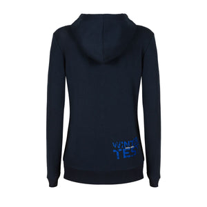 Valentino Rossi  Womens Blue Hoodie VR46 MotoGP Winter Test Official 2020